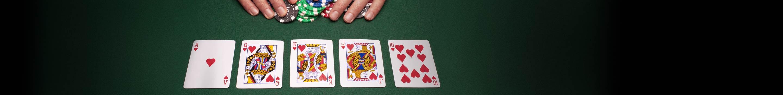 Rangfolge der Poker Hände