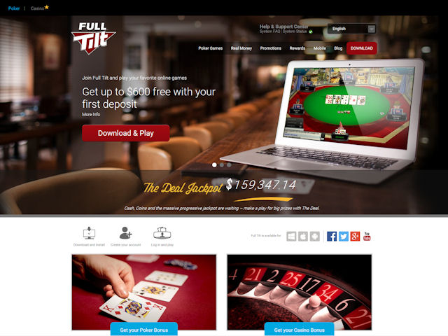 Full Tilt screenshot 1