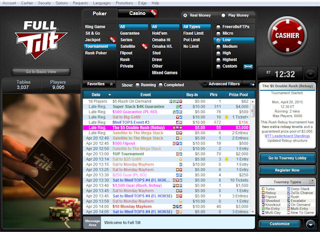 Full Tilt screenshot 2